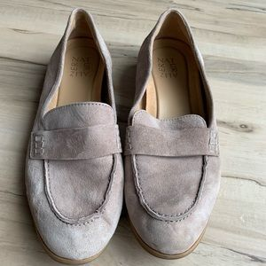 Naturalizer Suede Tan Loafer Size 8.5